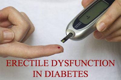 does sugar diabetes cause erectile dysfunction